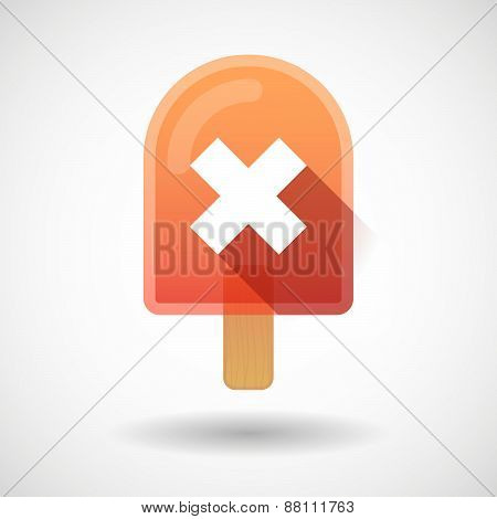 Ice Cream Icon With An