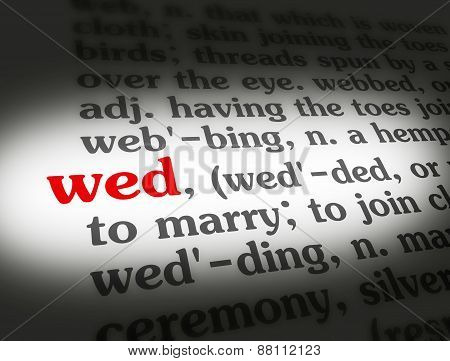 Dictionary Wed