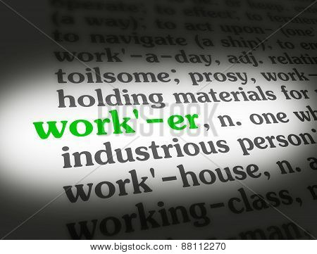 Dictionary Worker
