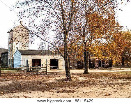 Batsto Village Scene