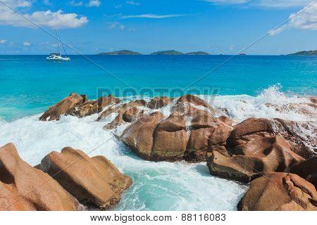Natural Wonder Sunlit Sea Foam