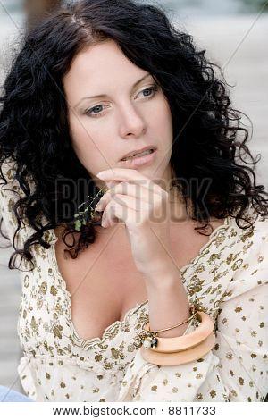 Brunet Woman