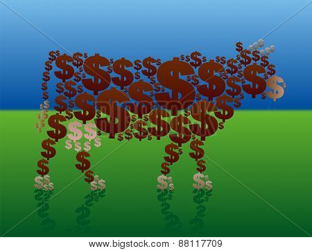 Cash Cow Rich Green Pasture