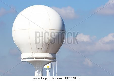 Ship Radar Dome