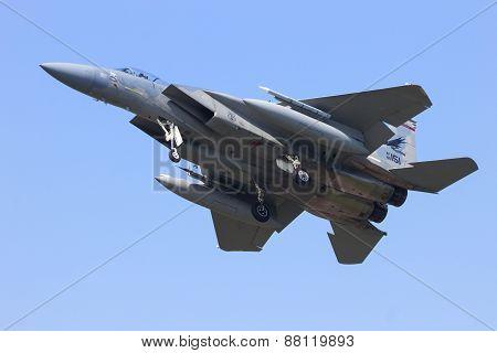 F-15 Eagle Landing