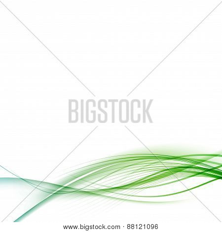 Transparent Smooth Swoosh Abstract Halftone Background