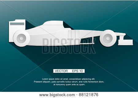 F1 formula automobile  racing car the world's fastest