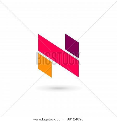 Letter N Logo Icon Design Template Elements