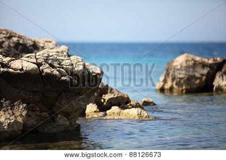 Coast Of The Adriatic Sea