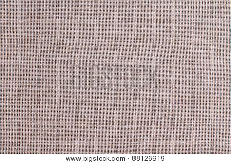 Background Texture Of Coarse Woven Beige Cloth