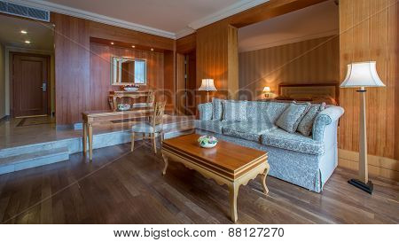 Classic living room interior