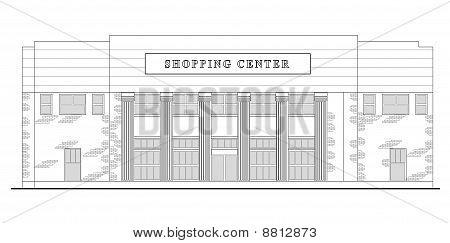 shopping center building