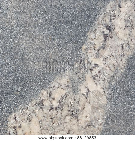 Gray Granite With Light Inclusions