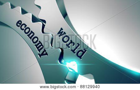 World Economy on the Cogwheels.