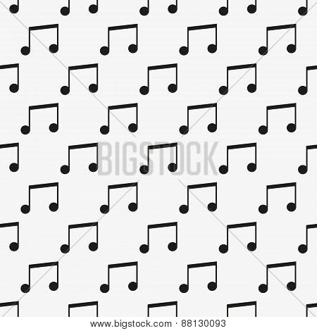 Music vector seamless pattern