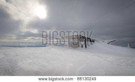 Abandoned mountain station