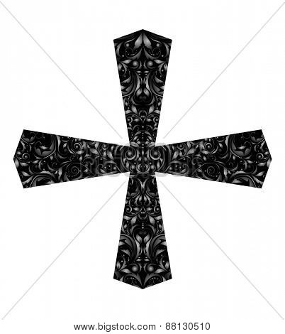 Vintage catholic cross