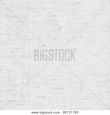 Clean white, gray burlap texture. Woven fabric