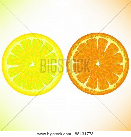 Lemon and Orange