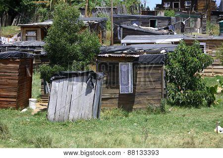African Informal Settlement