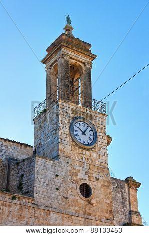 Clocktower. Bitritto. Puglia. Italy.