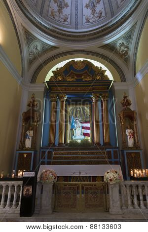Altar Of Mary, The Protector Of Puerto Rico.