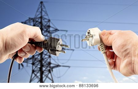 Plugs In Hand
