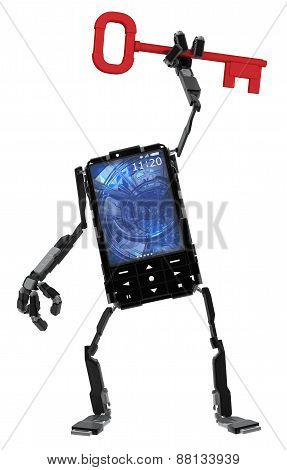 Phone Robot, Key