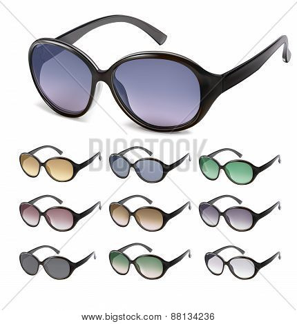 Sunglasses Vector. Vector Illustration
