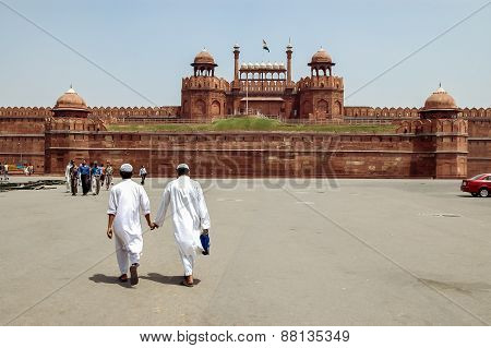 Red Fort In New Delhi, India