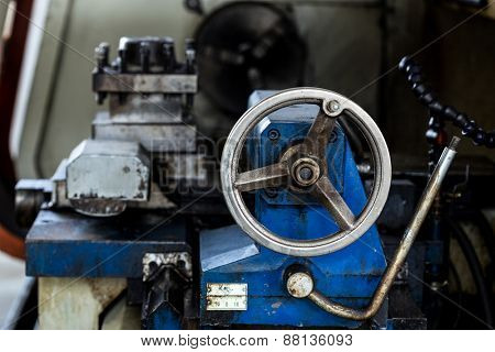 Obsolete Industry Machine in factory