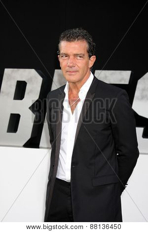 LOS ANGELES - AUG 11:  Antonio Banderas at the