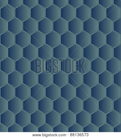Hexagonal seamless
