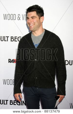 LOS ANGELES - FEB 15:  Max Greenfield at the