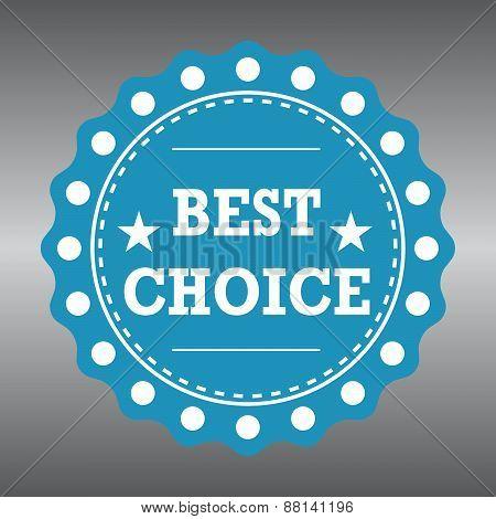 BEST CHOICE - Badge