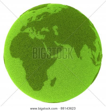 Americas On Green Planet