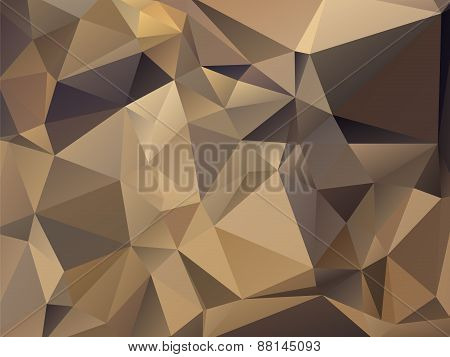 Abstract Modern Triangular Gray Brown Background