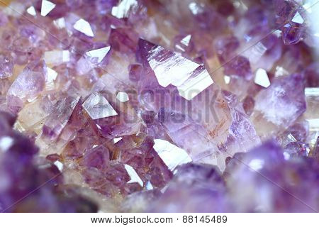 Amethyst Gemstone Mineral Background