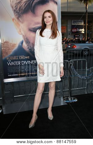 LOS ANGELES - FEB 16:  Saffron Burrows at the