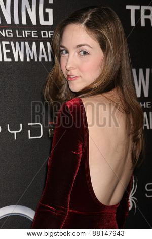 LOS ANGELES - FEB 16:  Brittany Curran at the