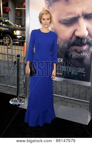LOS ANGELES - FEB 16:  Isabel Lucas at the