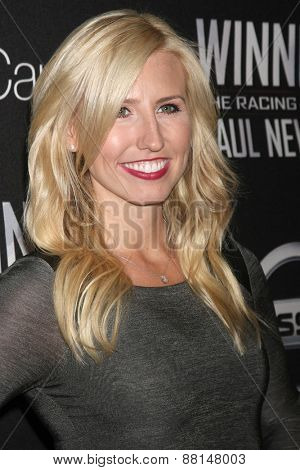 LOS ANGELES - FEB 16:  Courtney Force at the