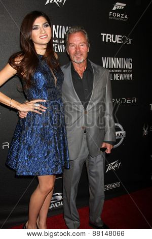 LOS ANGELES - FEB 16:  Blanca Blanco, John Savage at the