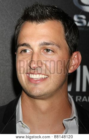 LOS ANGELES - FEB 16:  Graham Rahal at the