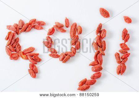 Goji - Written With The Goji Berries