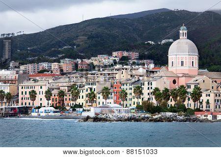 View Of Pegli - Genoa (italy)