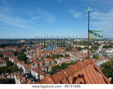 Panorama of Gdansk