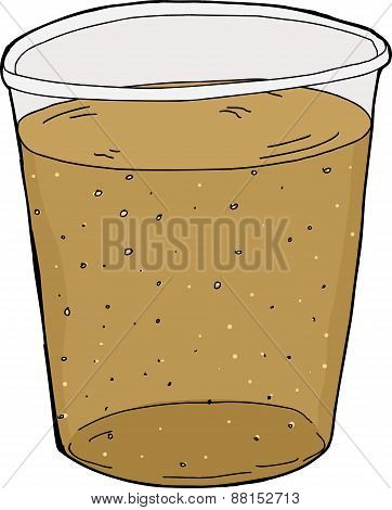 Cup Of Carbonated Soda