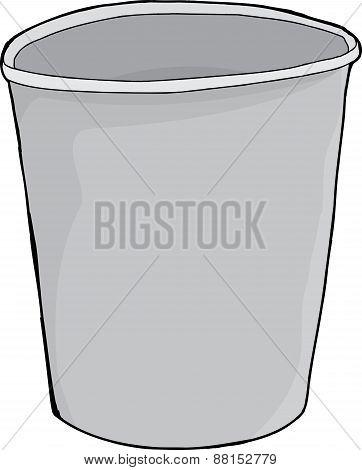 Styrofoam Empty Cup