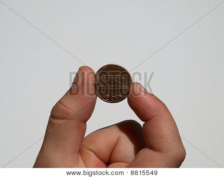one cent (penny)